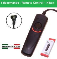 TELECOMANDO con filo per NIKON D800 D700 D300 D200 D3 D2H D1 F5 6 F90 F100 MC-30