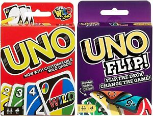 Mattel Uno Original and Uno Flip Card Games, Combo Pack of 2 42003 / GDR44