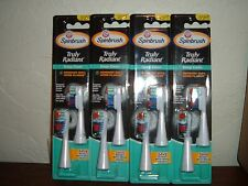 8 New Arm Hammer Truly Radiant Deep Clean Spinbrush Replacement Brush Heads Soft