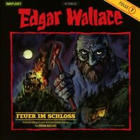 EDGAR WALLACE - FEUER IM SCHLOSS (07)   CD NEU