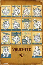 24x36 FALLOUT 4  Vault Tech Poster rolled and shrink wrapped
