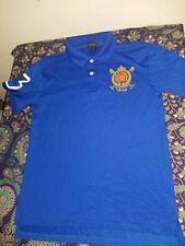 Ralph Lauren Polo #3 New York P.R.L.C LXVII boys Youth M 10-12 Shirt royal blue
