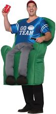 PASSO per adulti in poltrona atleta CALCIO PAPA 'Sports Fan Costume Vestito
