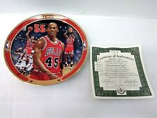 """Michael Jordan Bradford Exchange Upper Deck """"Double Nickel Game� Collector Plate"""