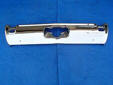 1969 OLDSMOBILE CUTLASS 442 REAR BUMPER TRIPLE CHROME SHOW QUALITY