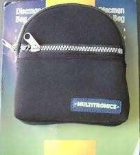 Funda de Neoprene Multitronics Discman Bag RB-11-multiuso CD portátil + trabilla
