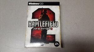 Battlefield 2 (PC, 2005) Japanese Small Box Edition