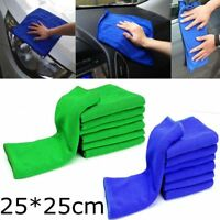 5/10x Microfiber Cleaning Auto Car Care Detailing Soft Cloths Wash Towel Duster