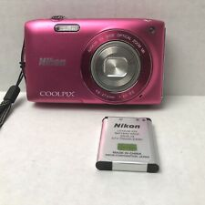 Nikon COOLPIX S3300 16.0MP Digital Camera - Pink