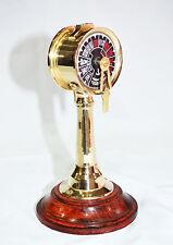 "Marine Brass Ship Engine Telegraph Retro Design 7"" Nautical Telegraph Decorative"