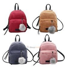 Mini Women Velvet Backpack Girls School Bags Small Travel Handbag Shoulder Bag