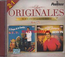 Beto 75 Los Originales 2 en 1 CD New Nuevo sealed