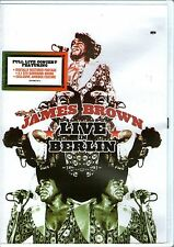 JAMES BROWN-Live In Berlin-DVD-Region Free-Brand New