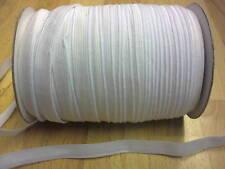 WHITE ELASTIC 12MM 1/2INCH 7M
