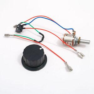Switch / Potentiometer 1k ohm for Powakaddy Freeway trolleys with EDF Wires.