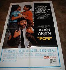 POPI 1969 Alan Arkin Rita Moreno ORIGINAL 1 ONE SHEET FILM CINEMA MOVIE POSTER