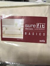 � SureFit Slipcover For Sofa Sailcloth Natural, ‼�See Pictures‼�