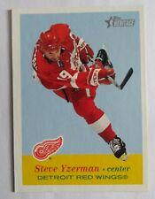 2001-02 Topps Heritage #38 STEVE YZERMAN - DETROIT RED WINGS HOF NM-MNT