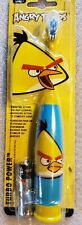 One ANGRY BIRDS Soft Power Toothbrush for Kids Aged 3 and Up new.