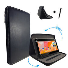 360° Rotating Case Archos 101D Neon Tablet Pc Cover - 10 Inch Zip