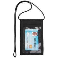 Black Security ID Neck Lanyard Belt Holder Badge Card Doorman Armband SIA