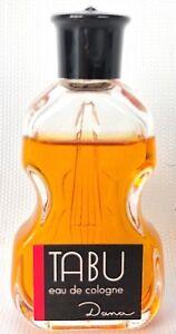 VTG Tabu Eau De Cologne Dana Perfumes 1/2 FL OZ Miniature Perfume Violin Bottle