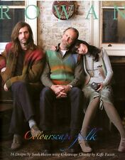Colourscape Folk - Rowan Knitting Pattern Book - 16 Designs for Men & Women