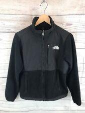 THE NORTH FACE Womens Size Small Black Polartec Denali Fleece Jacket Coat JM5