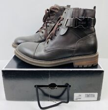 GUESS MEN'S RAND With Black Buckle Boots Size 9M EUC
