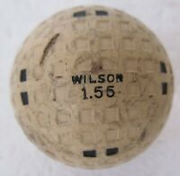 VINTAGE OLD SQUARE MESH GOLF BALL-THE WILSON DORMIE MULTI-MARKING-1.55/1.68