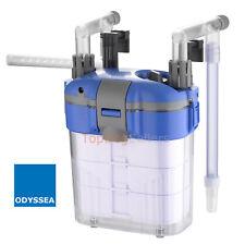 CFS 118 Aquarium Fish Tank Hang on Power Filter External 3 Stage Media 100 GPH