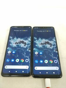 LOT of 2 LG G7 One 32GB GSM Unlocked Smartphones Assorted  A269L