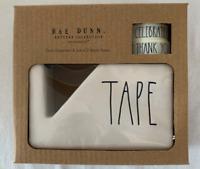 """Rae Dunn Ceramic """"TAPE"""" Dispenser BRAND NEW!"""