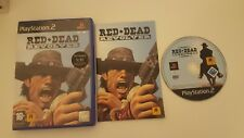 Red Dead Revolver Sony PlayStation 2 2004 Boxed With Manual Rockstar Redemption