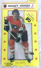 1975 HOCKEY HEROES PHILADELPHIA FLYERS STAND-UP DAVE SCHULTZ - MINT! #A40