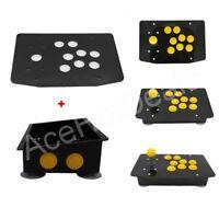 DIY Handle Arcade Set Kits Arcade joystick Acrylic Panel and Inclined Cases