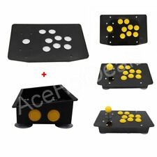 DIY Handle Arcade Set Kits Arcade joystick Acrylic Panel and Inclined Cases