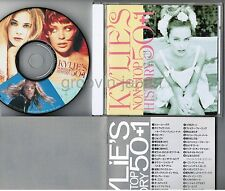 KYLIE MINOGUE Non Stop History 50+1 JAPAN CD ALCB-796 w/BOOKLET+PICTURE LABEL