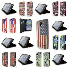 For Samsung Galaxy Mega 2 Pouch Case Magnetic Strap Cover + LCD Screen Protector
