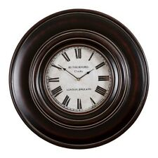 "Uttermost Adonis 24"" Wooden Wall Clock - 6724"