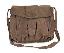 22B Shush Tasche Leder braun Umhängetasche Crossbody Messenger Bag für iPad