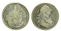 s48_13)  German States BAVARIA Thaler KM# 519.1 1765 from Mounting