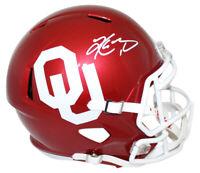 Kyler Murray Signed Oklahoma Sooners Speed Replica Helmet Heisman BAS 25425