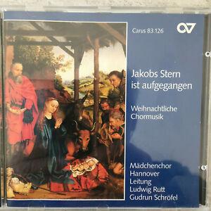 MÄDCHENCHOR HANNOVER: Jakobs Stern ist aufgegangen (CD Carus  83.126 / neu)