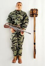 21st Century Toys Ultimate Soldier 1:6 WWII w/ Camo Boots Rifle Stick Mine