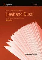 Top Notes HSC Belonging: Heat and Dust Author: Suzan Pattinson,HSC YEAR 12