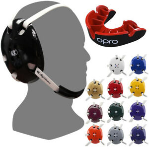 Cliff Keen E58 Signature Wrestling Headgear with Free OPRO Silver Mouthguard
