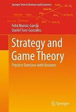 Strategy and Game Theory: Practice Exercises with Answers by Felix...