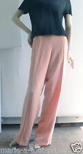 Pantalon habillé cocktail rose tendre taille 42 pour mariages cérémonie val.250€