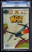 War #32 CGC NM/M 9.8 White